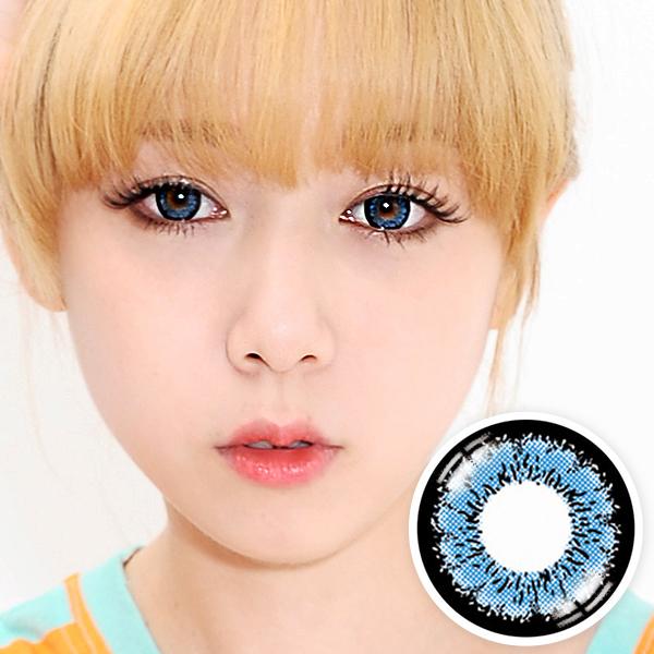 【Yearly / 2 Lenses】 EMILY Blue (OS1) /168