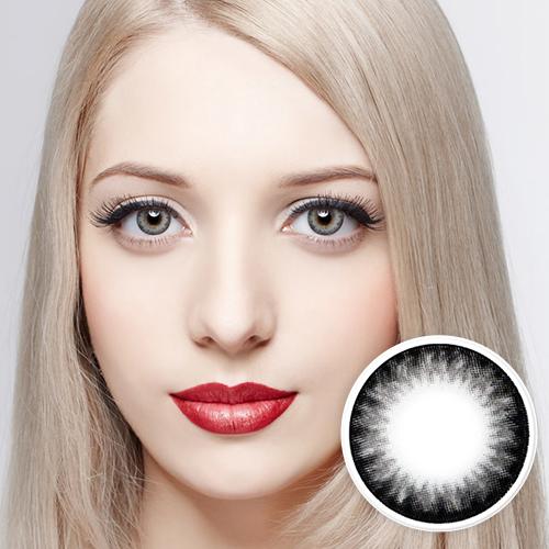 【2 Toric Lenses / 12month】  Diamond  Gray / 268 <br>