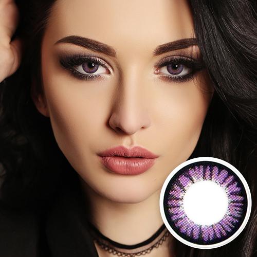【2 Toric Lenses / 12month】  Cara  Violet  /522 <br>