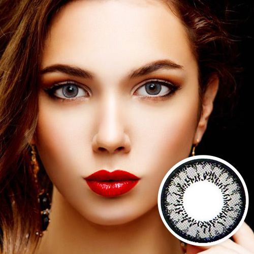 【2 Toric Lenses / 12month】  MI Two color  Gray  /529 <br>