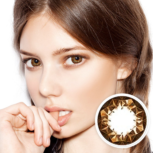 【2 Toric Lenses / 12month】  Ruby queen Brown Toric /428 </br>