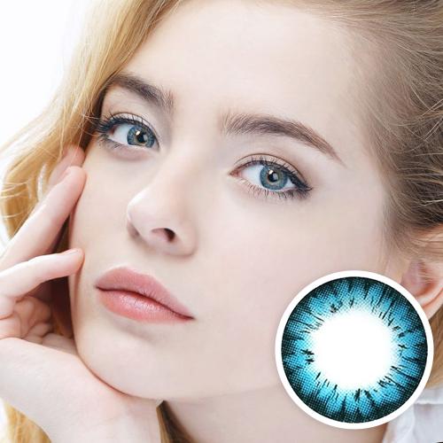 【2 Toric Lenses / 12month】  Avril (A132) Blue   /1272 </br>