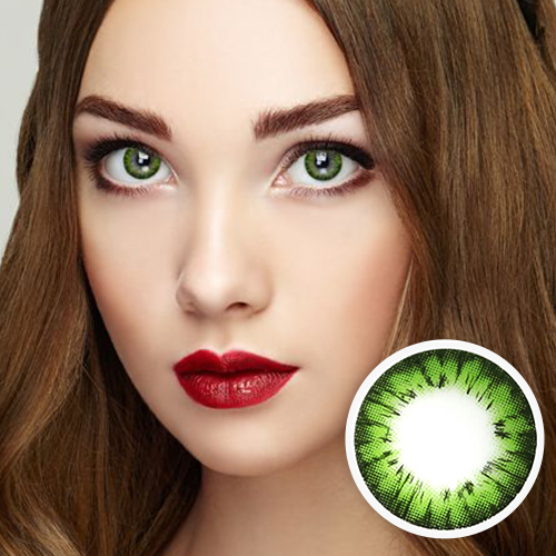 【2 Toric Lenses / 12month】 Avril (A132) Green /1273 </br>