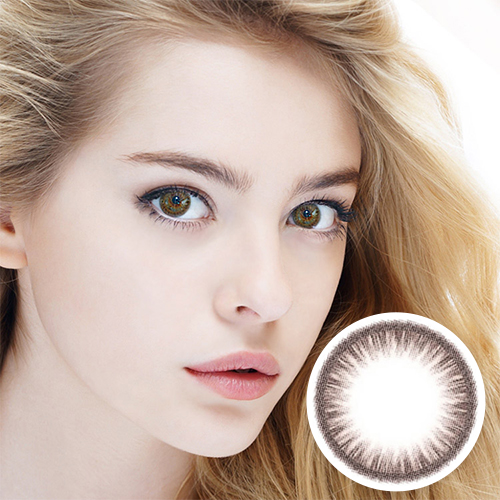 【2 Toric Lenses / 12month】 Maxlook Scl Judy Brown / Silicon Hydrogel /1436 </BR>