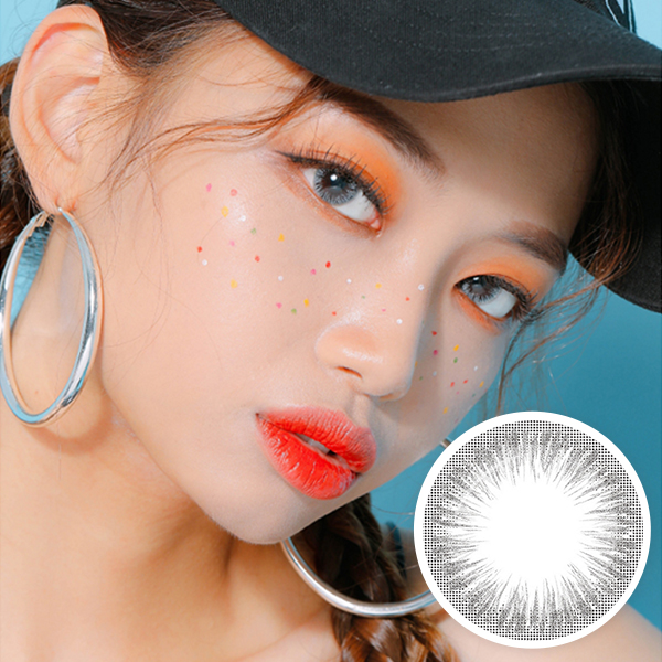 【Monthly / 2 Lenses】 Touch Silver pearl / Silicone Hydrogel / 1468</BR>