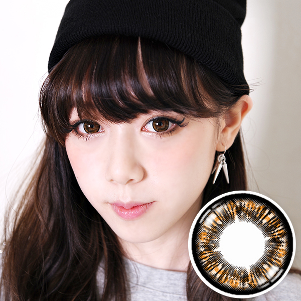 【Yearly / 2 Lenses】 Cookie  Brown  /215