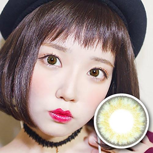 PREMIUM 【2 Toric Lenses /12month】 YEJI Green /1628 </br>