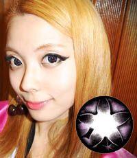 "<FONT COLOR=""4697f2""> [ Lucky! ¥790]</FONT>【最長1年使用・両目2枚】 Secret big star (CF) Violet / 076</BR>"