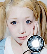 """<FONT COLOR=""""4697f2""""> [ Lucky! ¥590]</FONT>【最長1年使用・両目2枚】 B200 Blue / 190</BR>"""