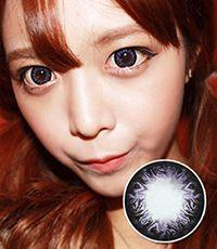 【1年カラコン】Sophie Violet / 236</BR>DIA:15.0mm, 度なし