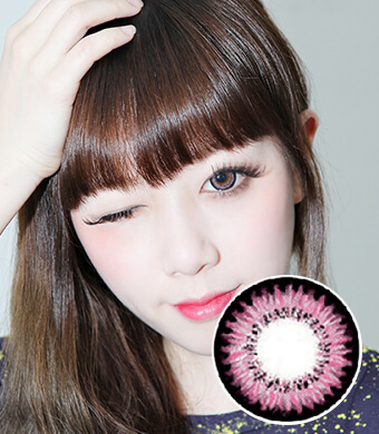 【Yearly / 2 Lenses】 Audrey (AB200) Pink / 082</BR>