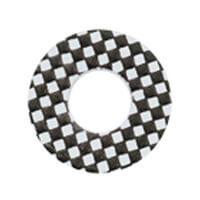 チェックヤード 白ブラック funky Chequered /873