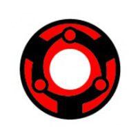 [写輪眼-T06] マダラ 永遠の万華鏡写輪眼 NO 122 crazy/14.5mm/ コスプレ用 /407