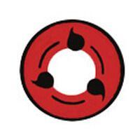 度あり【 最高品質 コスプレ用 2枚】 [写輪眼-T03 ] ナルト キャラクター Itachi  T03  /857