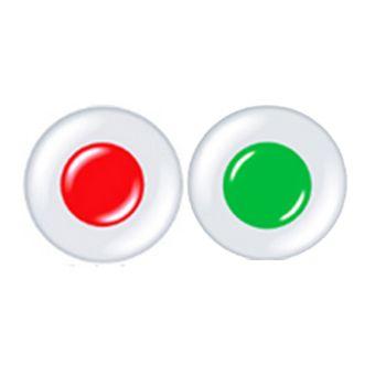 色覚補正コンタクトレンズ 赤1枚+ 緑1枚 1set /1076
