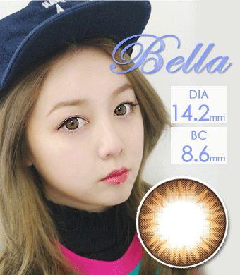 【1年カラコン】 GEO  ベラ ブラウン Bella Brown / 1236</br>