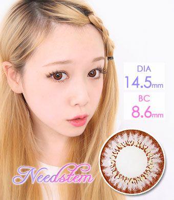 お人形レンズ 【遠視カラコン/ 2枚】 Needstem Pink / 1311</br>