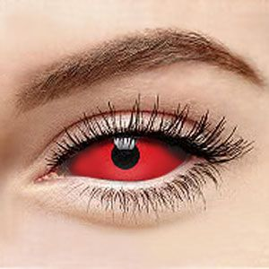 スクレラレンズ 全眼カラコンDemon Lucifer Red Sclera 2211 / 22mm / 1491