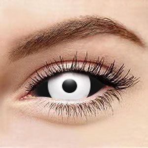 最高品質コスプレ【全眼カラコン2枚】 Medusa Sclera Contacts 2222 / 22mm / 1496
