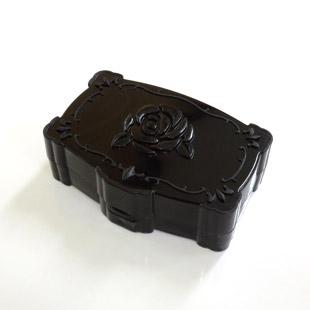 【レンズケース】 Annasui Black Contact Lens Case / 1529