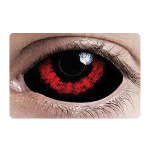 スクレラレンズ 全眼カラコン Red Shock Sunpyre Sclera  2220 / 22mm / 1541