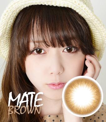 ナチュコン【PREMIUM Hydrogel 】 [マンスリー2枚] MATE Brown /1602</BR>