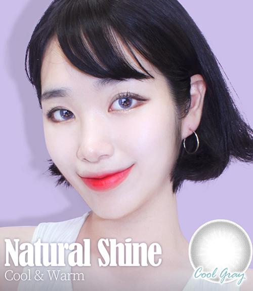 色素の薄い瞳 【最長1年使用・両目2枚】 Natural Shine Cool Gray / 1534<br>