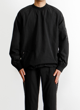 (30% off)[Defond] Oversized Nylon Pullover(Lampo zipper)